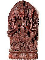 Goddess Durga Slaying the Demon Mahishasur