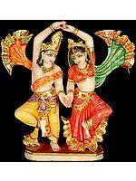 Radha Krishna in Joyous Dance