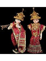 Radhey Shyam (Radha and Krishna with Dress)