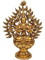 Japanese Durga (Juntei Kannon or Chandi)