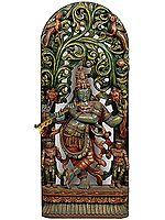 The Enrapt Flute Player: Krishna as Vishnu