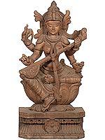 Lotus-seated Vina-vadini