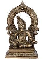 Laddu Gopal: The Child Krishna with Laddu in His Hand
