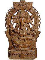 Tri-Mukha Ganesha