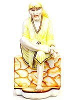 Marble Sculpture of Shirdi Sai Baba