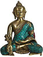 (Tibetan Buddhist Deity) The Medicine Buddha - The Unfailing Healer of the of Samsara