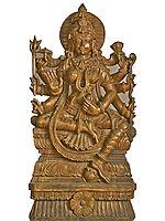 Ashta-Bhuja-Dhari Adi-Devi: The First Ever Goddess