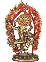 The Female Buddha Vajravarahi (Goddess Red Tara)