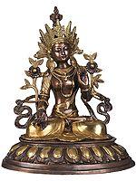 Tibetan Buddhist Goddess White Tara