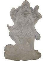 Goddess Kali (Carved in Crystal)