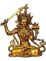 Manjushri - Bodhisattva of Transcendent Wisdom (Tibetan Buddhist Deity)