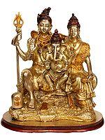 Shiva-Parvati with Ganesha
