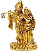 Radha Krishna (Small Statue)