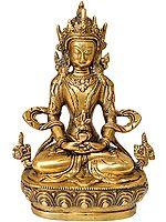 Tibetan Buddhist God Amitabha Buddha