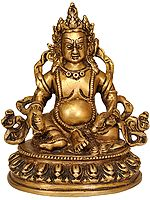 Tibetan Buddhist Deity-Kubera (God of Wealth)