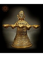 Tribal Lamp Lady