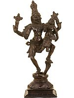 Narasimha, With His Lakshmi, Crushed The Snake