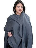 Plain Silk-Pashmina Stole from Nepal