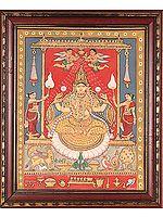 Goddess Lakshmi (Framed)