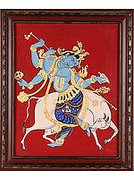 Fluting Krishna (Framed)