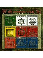 Shri Navagraha Yantra (Yantra of the Nine Astrological Planets)