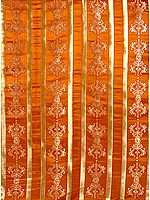 Ochre-Brown Vajra Altar Cloth