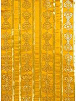 Golden Vajra Altar Cloth