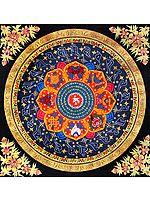 Om (AUM) Mandala - Tibetan Buddhist