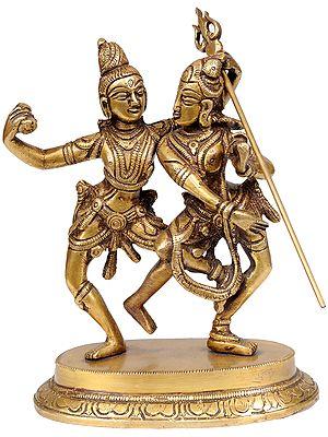Shiva-Parvati in Dancing Pose