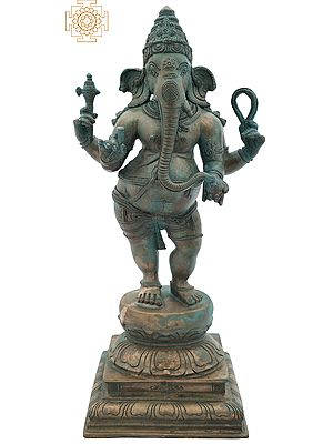 Four Armed Standing Lord Ganesha