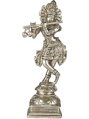 Shri Krishna Playing on Flute