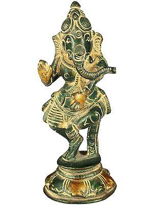 Dancing Ganesha (Small Statue)