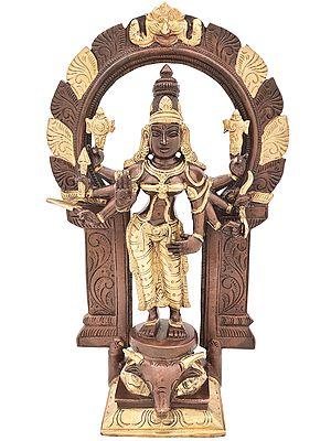 Standing Ashtabhujadharini Durga