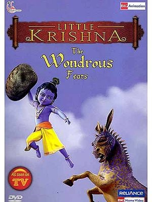 Little Krishna: The Wondrous Feats (DVD)