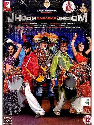 Dance Come'n Dance:Jhoom Barabar Jhoom (Yash Chopra Presents) (Set of Two DVD In Hindi with English Subtitles)