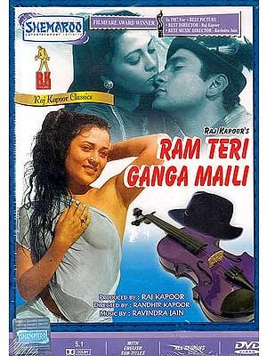 Oh God Your Ganga Has Been Polluted: Ram Teri Ganga Maili (Hindi Film DVD with English Subtitles) - Filmfare Award Winner for Best Film, Best Director and Best Music Director