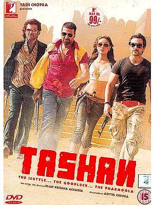Tashan (The Ishtyle...The Goodluck...The Pharmoola) (Hindi Film DVD with English Subtitles)