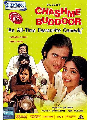 Chashme Buddoor (An All-Time Favourite Comedy) (Hindi Film DVD with English Subtitles)