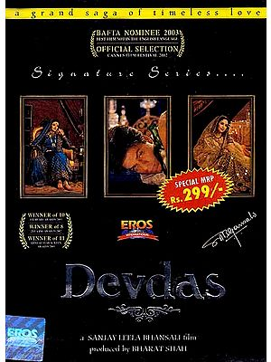 Devdas The Legendary Lover (Hindi Film DVD with English Subtitles) - Winner of 10 Filmfare Awards 2003; 8 Zee Cinema Awards and 11 Annual Star Screen Awards