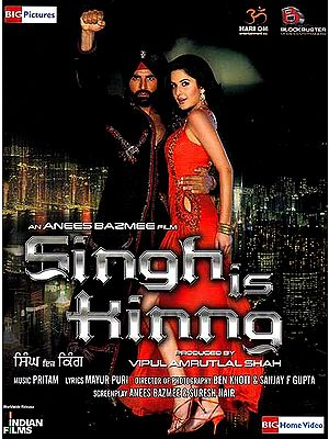 Singh is Kinng (Hindi Film DVD with English Subtitles)