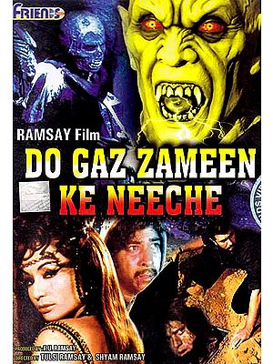 Beneath Two Feet of Land: Do Gaz Zameen Ke Neeche (Horror Film DVD with English Subtitles)