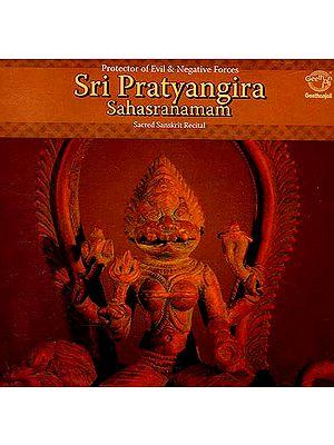 Sri Pratyangira Sahasranamam: Protector of Evil & Negative Forces (Audio CD)