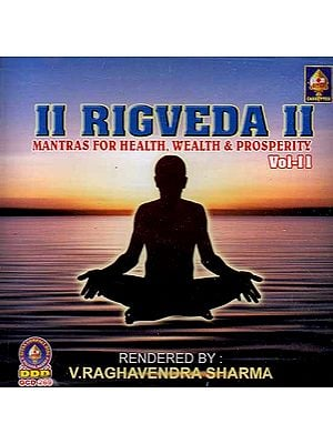 Rigveda - Mantras For Health, Wealth & Prosperity Vol-II (Audio CD) <p>