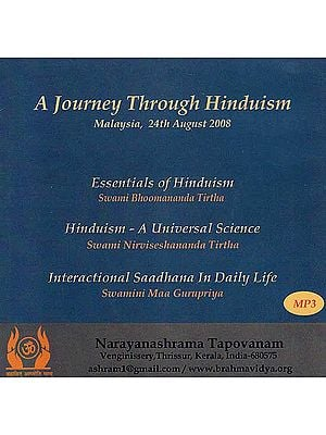 A Journey Through Hinduism (Three Lectures in Malaysia, 24th August 2008) (MP3)