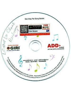 Learn to Chant - Laghunyasam, Rudram, Chamakam, Purusha Sooktam Sanskrit (MP3)