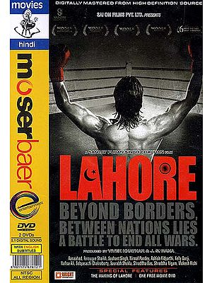 Lahore Beyond Borders, Between Nations Lies – A Battle to End All Wars (Set of Two DVDs with English Subtitles) - Hindi Film