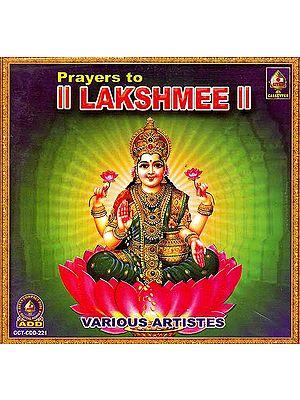 Prayers to Lakshmi (Audio CD)