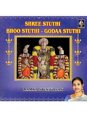 Shree Stuthi, Bhoo Stuthi and Godaa Stuthi (Audio CD)