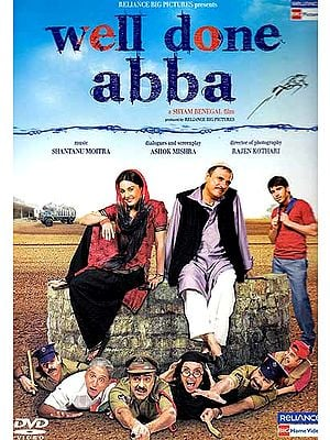 Well Done Abba (A Hilarious Hindi Film DVD with Subtitles in English)