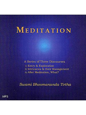 Meditation: A Series of Three Discourses (MP3)